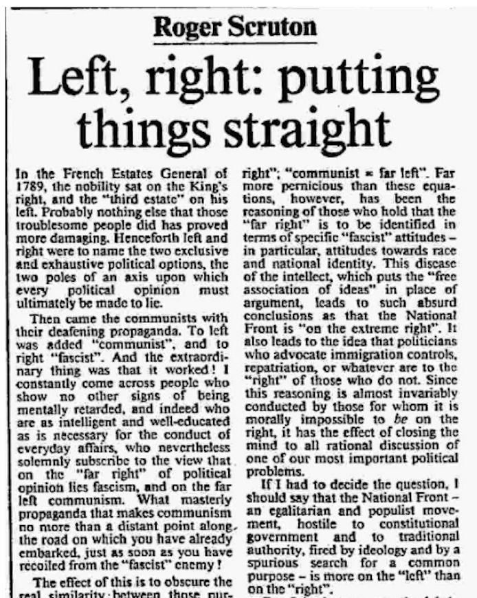 The article in the Times in 1983 (Photo: )