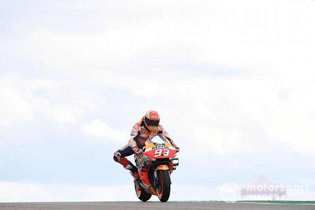 "Marc Marquez, Repsol Honda Team <span class=""copyright"">Gold and Goose / LAT Images</span>"