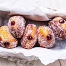 """<p>Made with a yeasted dough that is enriched with egg, these donuts are chewier and denser than a typical donut, having almost a brioche-like quality.</p><p>Get the <a href=""""https://www.delish.com/uk/cooking/recipes/a35921536/fat-tuesday-packzi-donuts-recipe/"""" rel=""""nofollow noopener"""" target=""""_blank"""" data-ylk=""""slk:Fat Tuesday Donuts"""" class=""""link rapid-noclick-resp"""">Fat Tuesday Donuts</a> recipe.</p>"""