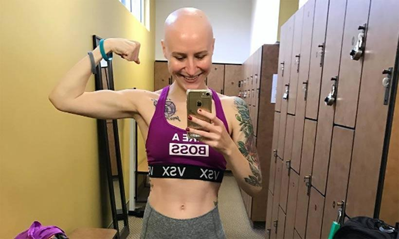 Fitness blogger shares powerful Instagram posts about living with cancer