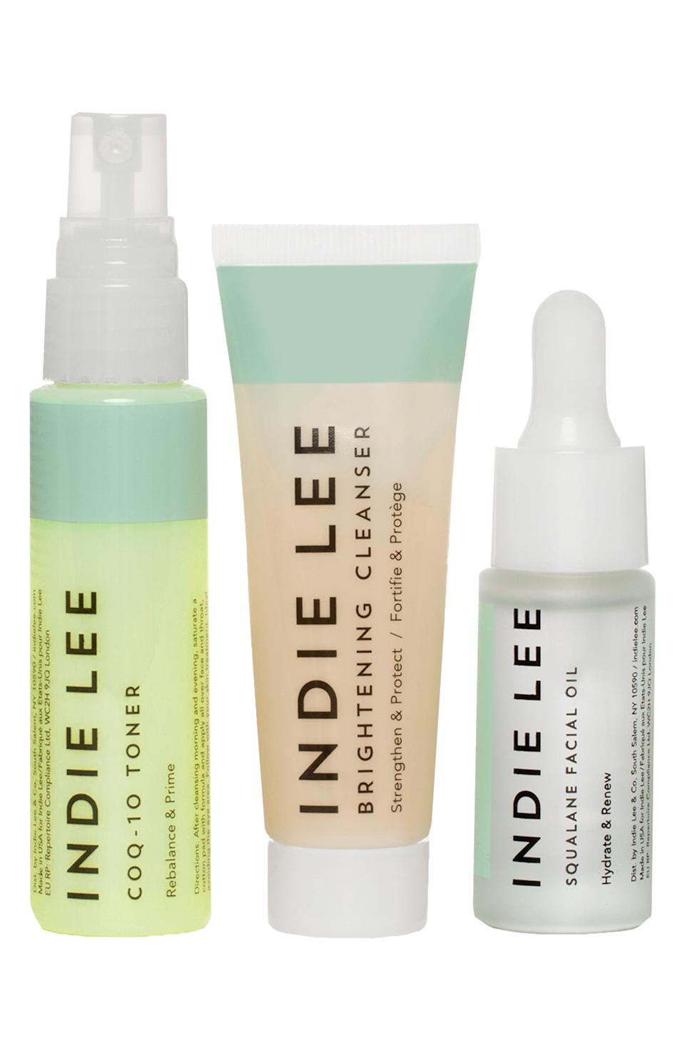 Indie Lee Travel Size Discovery Set. Image via Nordstrom.