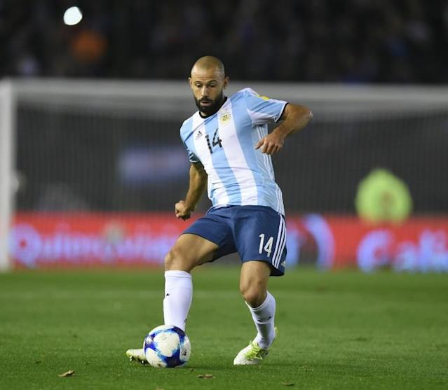 Argentina's Javier Mascherano last week left Barcelona for Hebei China Fortune in the Chinese Super League (CSL)