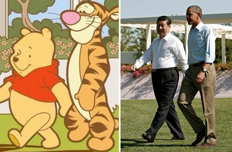 China just blacklisted Winnie the Pooh