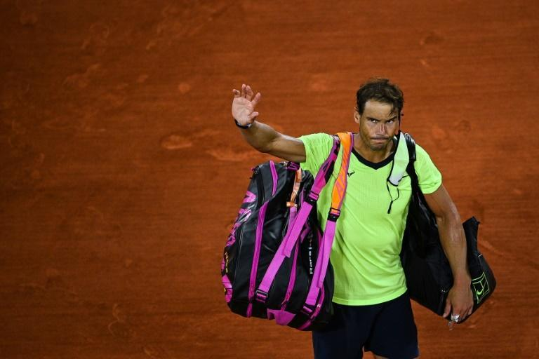 All over for Rafael Nadal