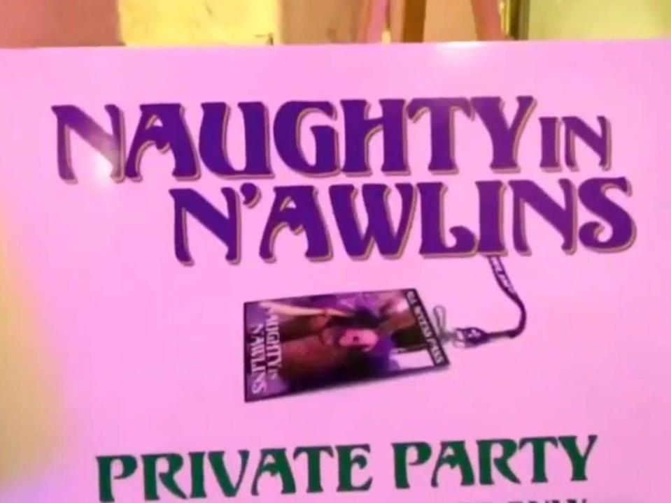 """The """"Naughty N'awlins"""" swingers lifestyle convention in New Orleans, Louisiana in 2015 ((ABC News via OpenLove101 - YouTube))"""