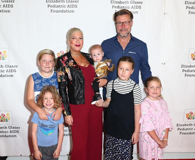 Tori and Dean with their five children. (Photo: Getty Images)