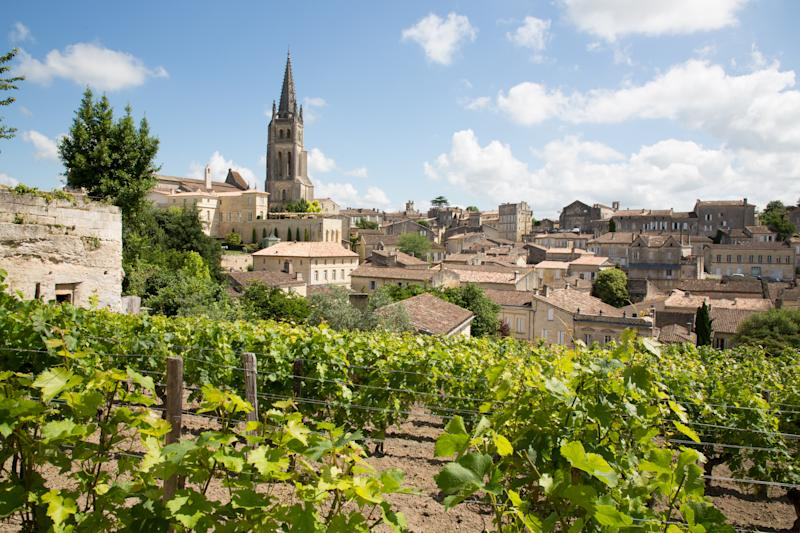 The picturesque Saint Emilion village in Bordeaux. [Photo: Getty]
