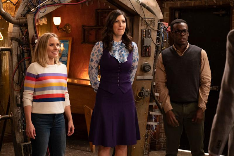 "The Good Place"" star D'Arcy Carden wants to live at Ted"