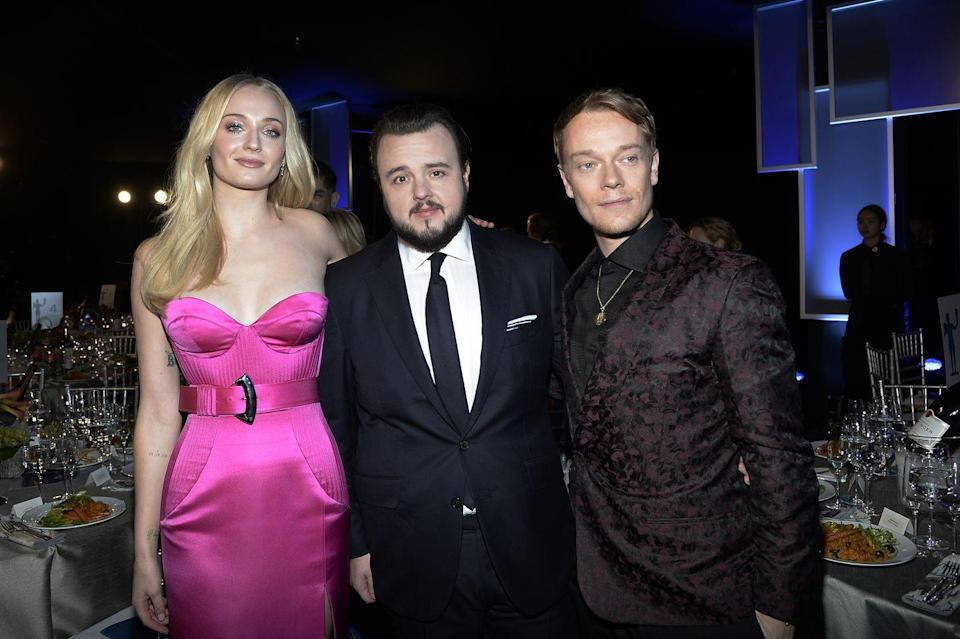 <p>Blink and you could have missed it, but yep there was a Game of Thrones reunion at the 2020 SAG awards on 19th January. Sophie Turner reunited with John Bradley and Alfie Allen and all posed for a picture to mark the occasion. Just what we like to see.</p>