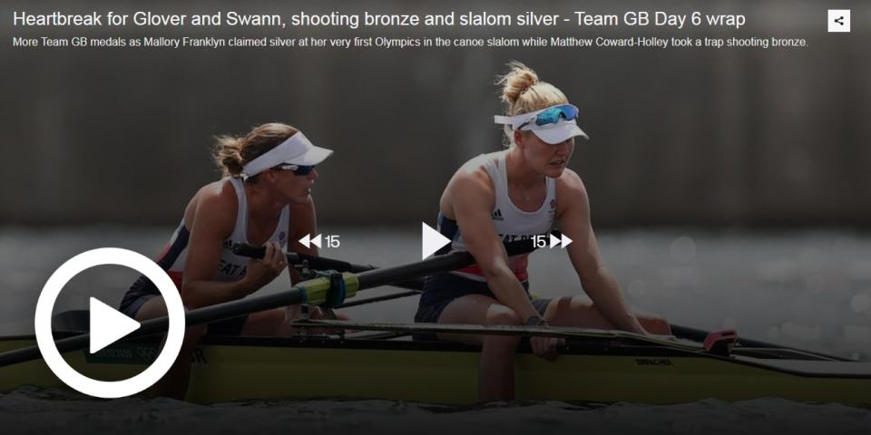 HEARTBREAK FOR GLOVER AND SWANN, SHOOTING BRONZE AND SLALOM SILVER - TEAM GB DAY 6 WRAP