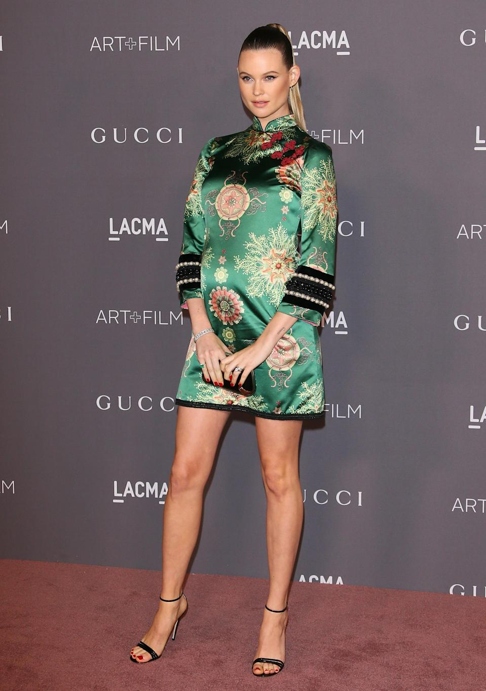 Behati Prinsloo at the LACMA Art + Film Gala 2017. (Photo: Getty Images)