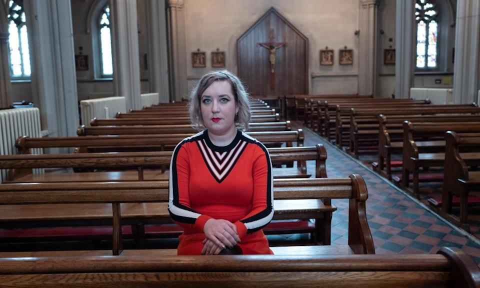 Dawn Foster in 2019. Writing on Grenfell and health issues took her back to the Catholicism of her earlier years.