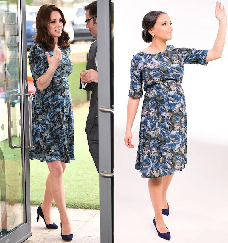 We Tried It: Kate Middleton's Maternity Style for Less ...