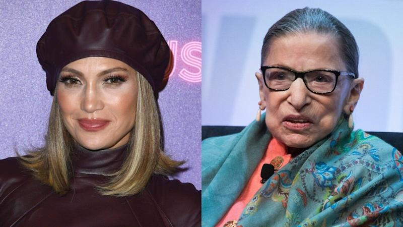 Jennifer Lopez Reveals the 'Super Wise' Marriage Advice Ruth Bader Ginsburg Gave Her and Alex Rodriguez