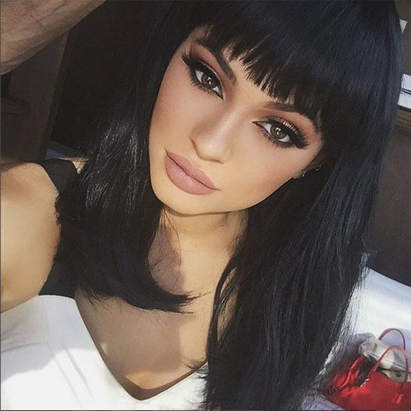 <br>She's been teasing us with an array of wigs in an array of colours, but now Kylie Jenner has taken the plunge and dyed her hair blonde, for reals...