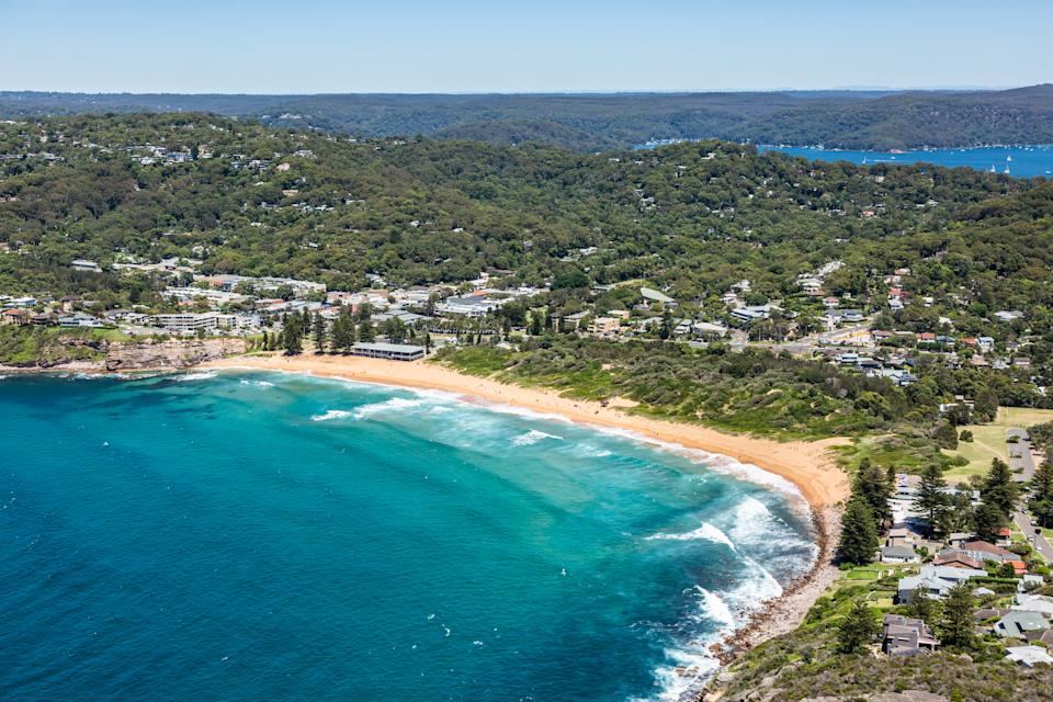 Aerial View of Avalon, NSW