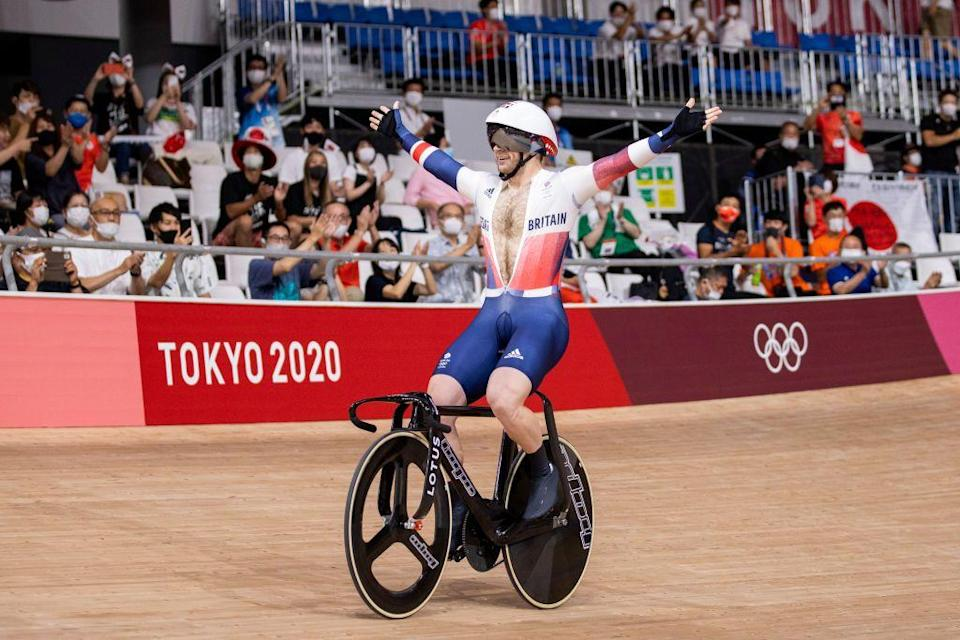 <p>33-year-old Jason Kenny is the first British athlete to win seven Olympic gold medals, making him the most successful of all time, overtaking former champion Bradley Wiggins. Kenny won nine in total, including two silvers, and there are now calls for him to be knighted.</p>