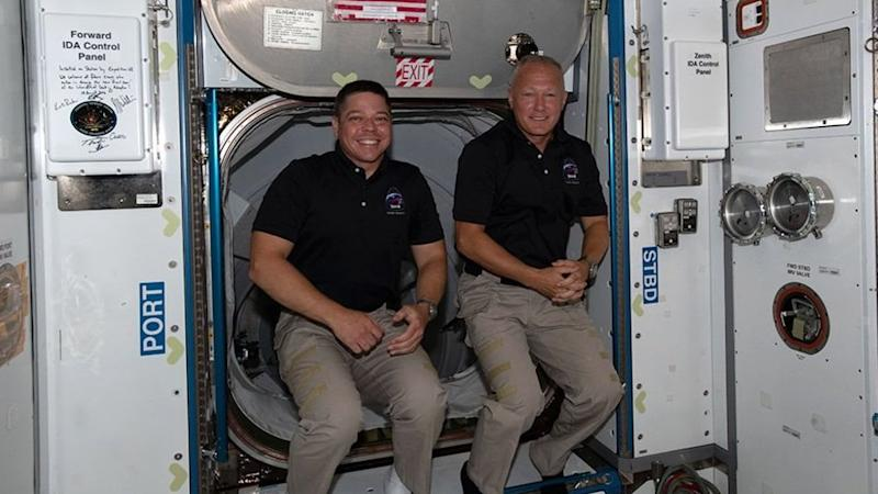 Two astronauts