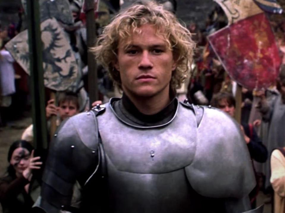 Heath Ledger in A Knight's Tale movie 2