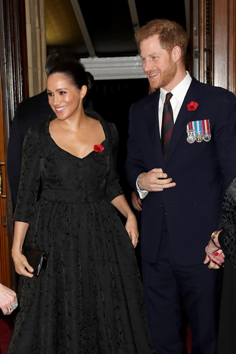 Prince Harry and Meghan Markle Had a Secret Thanksgiving in the U.S.