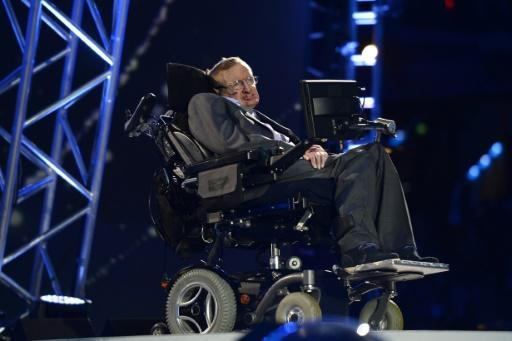 Stephen Hawking made a cameo during the opening ceremony of the London 2012 Paralympic Games
