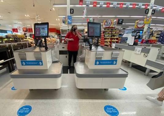 Coles has introduced new checkouts across a large number of its stores.
