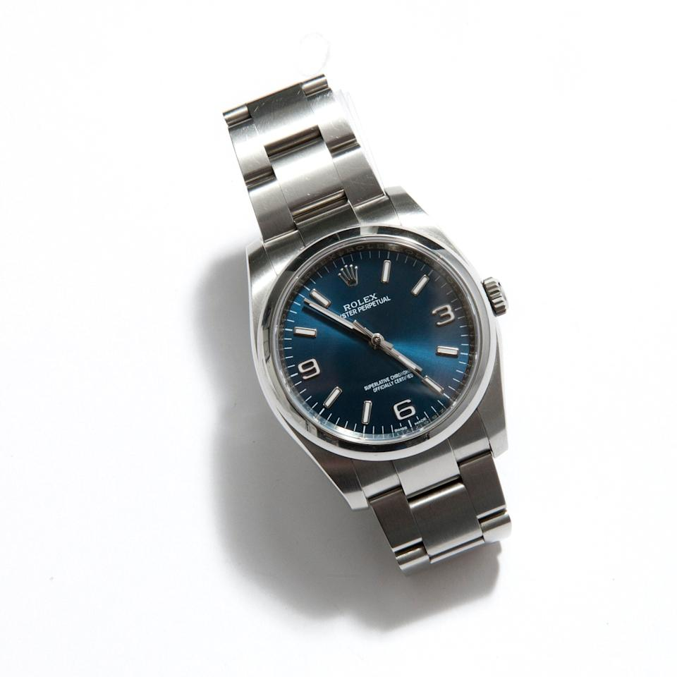 Oyster Perpetual watch Rolex (POA), vestiairecollective.com