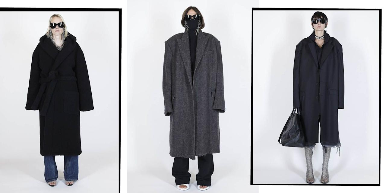 <p>Whether it's a powder blue, perfectly structured, trench a la Peter Do or ALYX's pearl encrusted pea coat that is much more up your street - the catwalks of SS21 have got you covered. Take inspo from Miusccia Prada and Raf Simons' debut co-designed Prada collection and wear yours with this seasons styling tip: The Coat Clutch. </p>