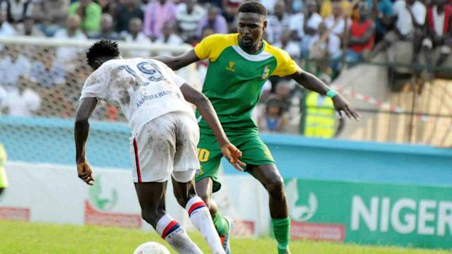 The Sai Masu Gida boys recorded a setback in their quest for top four finish and the gaffer has blamed the officials for their loss in Calabar