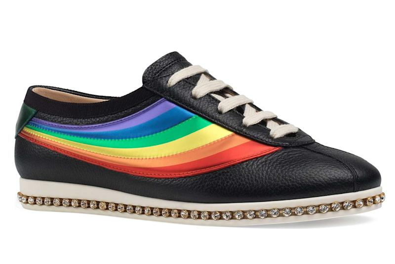 8a0f1b24ae1f 7 Trendy Rainbow Sneakers to Shop for Pride Month