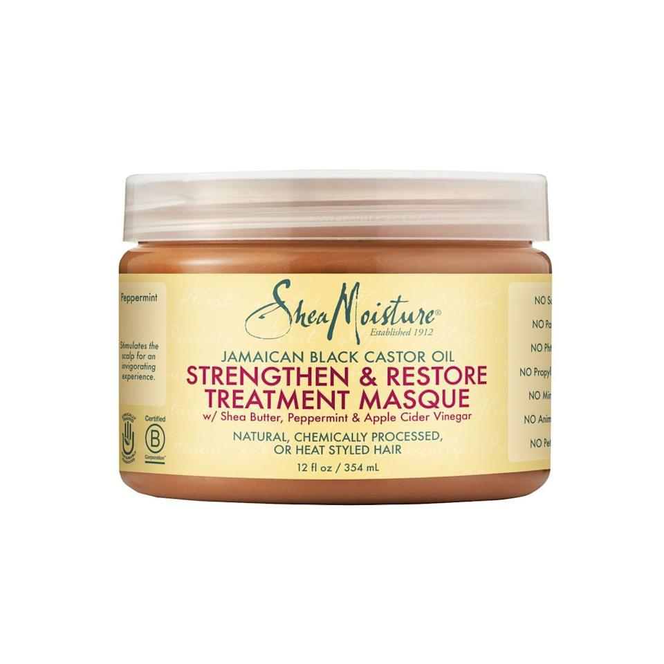 """""""The secret to healthy hair is to deep condition. This masque works great when used sitting under a hooded dryer. It improves elasticity, softens, and adds shine. My styling products works better after using."""""""