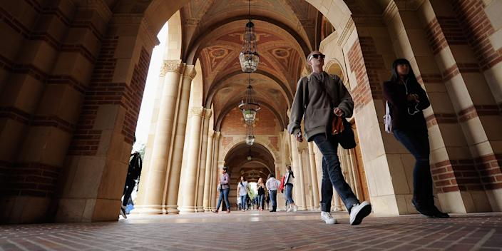 """College <p class=""""copyright"""">Kevork Djansezian / Getty Images</p>"""
