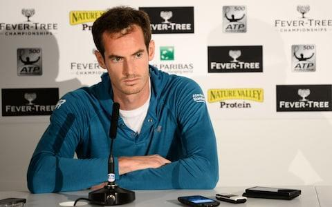 <span>Murray has stayed fit despite his hip operations</span> <span>Credit:  Getty Images </span>
