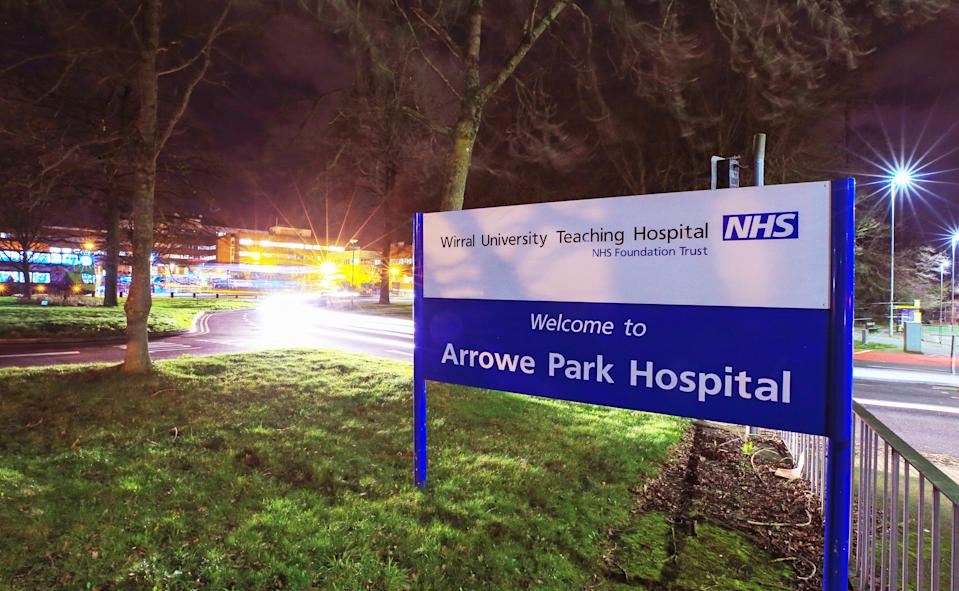 Arrowe Park Hospital in Merseyside which is understood to be where the British nationals from the coronavirus-hit city of Wuhan in China, will be quarantined after they arrive back into the UK on Friday. (Photo by Peter Byrne/PA Images via Getty Images)