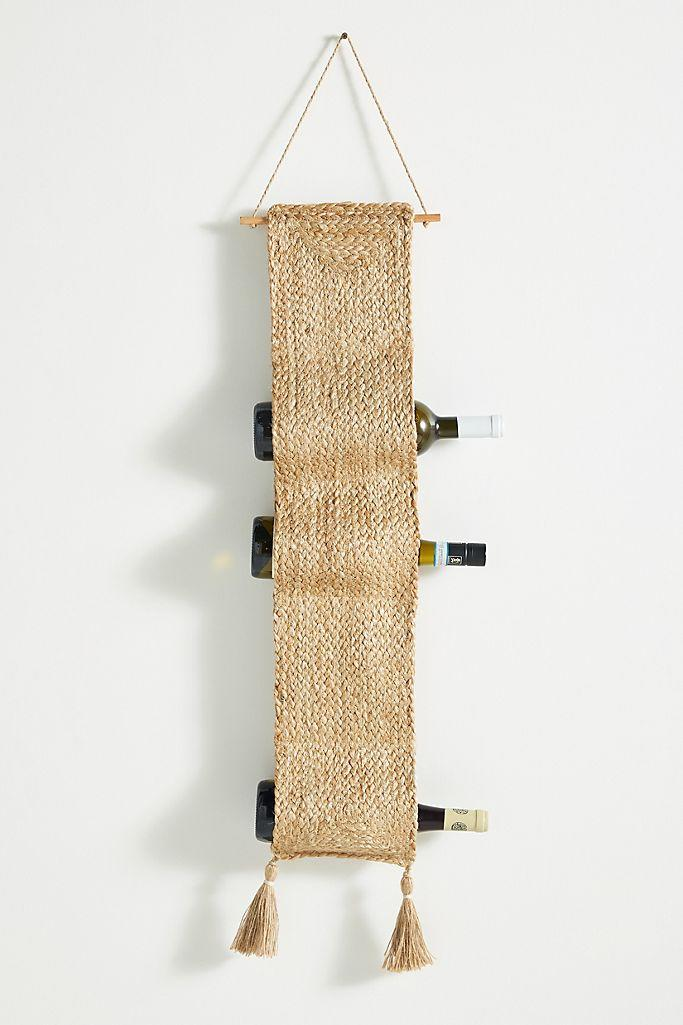 Mateo Woven Wine Rack. (Anthopologie)