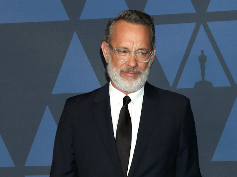Tom Hanks emotional as he collects Cecil B. DeMille Award