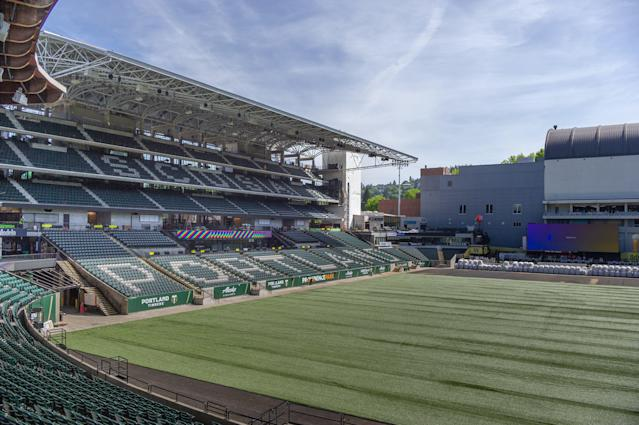 The Portland Timbers have added 4,000 additional seats to the east side of Providence Park, which was already the most raucous stadium in MLS. The club has also spent big on improvements to its training facility, academy and first-team roster. (Diego G. Diaz/Getty)