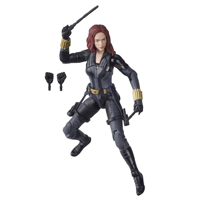 Hasbro Marvel Black Widow Legends Series Black Widow (Photo: Hasbro)