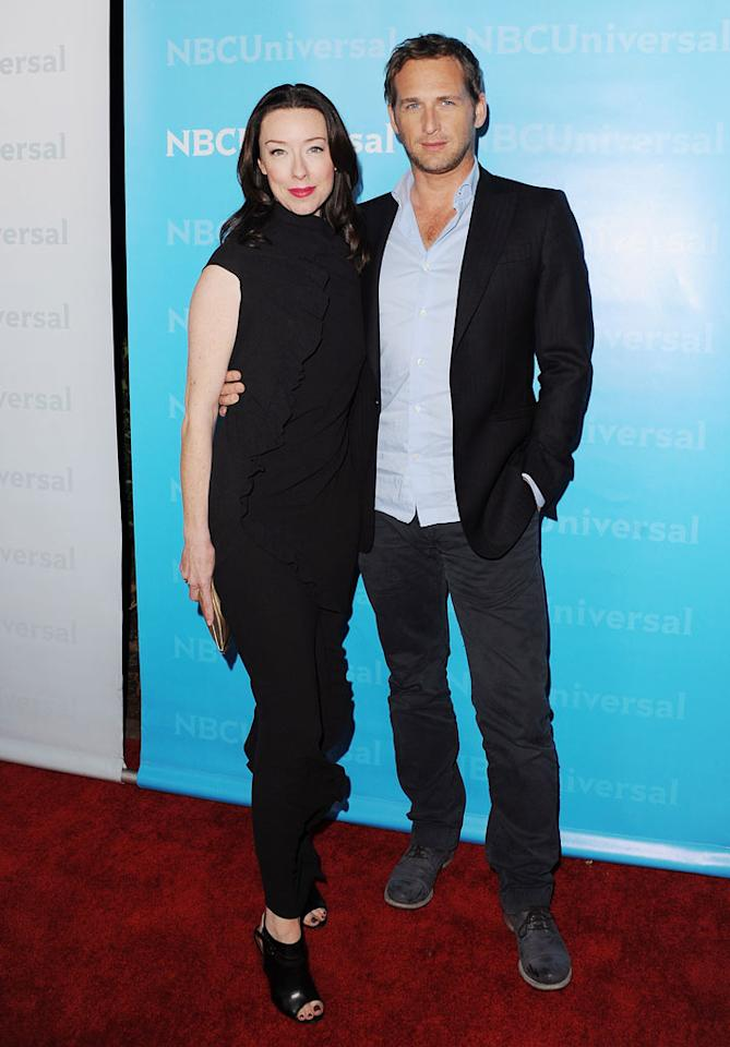 """<a href=""""/molly-parker/contributor/46316"""">Molly Parker</a> and <a href=""""/josh-lucas/contributor/29524"""">Josh Lucas</a> (""""<a href=""""/firm/show/47402"""">The Firm</a>"""") attend the 2012 NBC Universal Winter TCA All-Star Party at The Athenaeum on January 6, 2012 in Pasadena, California."""