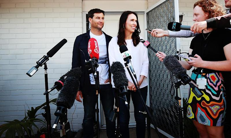 Jacinda Ardern announced her pregnancy in January.