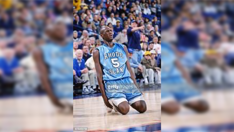 Lamar Odom originally planned on going to UNLV, but after question arose about his SAT scores, he ended up at Rhode Island. Rocky (Widner/NBAE via Getty Images)
