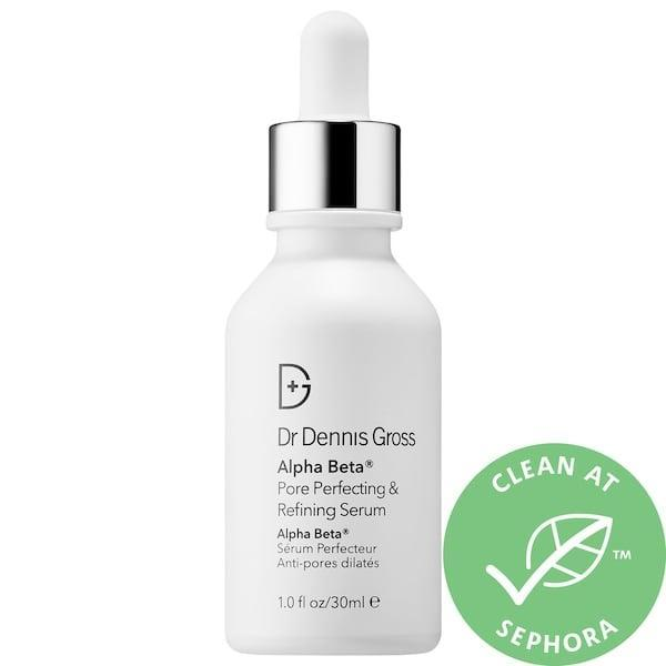"<p><strong>Item: </strong><span>Dr. Dennis Gross Skincare Alpha Beta Pore Perfecting and Refining Serum</span> ($65) </p> <p><strong>What our editor said:</strong> ""I've been looking for a magic pore eraser ever since I first noticed a pore on my face, and I'm excited to say that [this serum] is the closest I've come to finding one. It's a blend of acids and mushroom extract that both clean and tighten pores, making them appear smaller. The best part? I noticed a difference after only a week."" - Dawn Davis, senior editorial director, Brandshop</p> <p>If you want to read more, here is <a href=""https://www.popsugar.com/beauty/Best-Skincare-Products-August-2019-46435580"" class=""link rapid-noclick-resp"" rel=""nofollow noopener"" target=""_blank"" data-ylk=""slk:the complete review"">the complete review</a>.</p>"