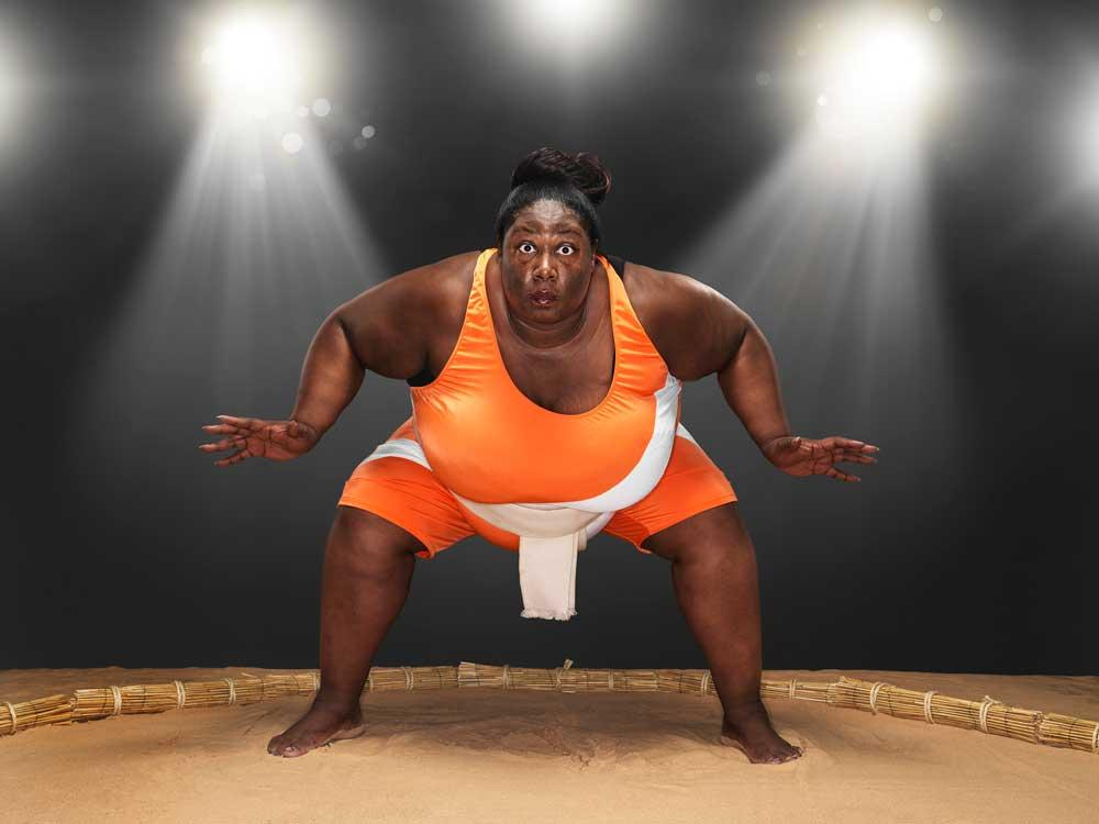 Sharran Alexander from London, England, is today recognised as the heaviest sportswoman weighing in at 32 stone. The only female sumo wrestler on the UK team is recognised in the new Guinness World Records 2013 book