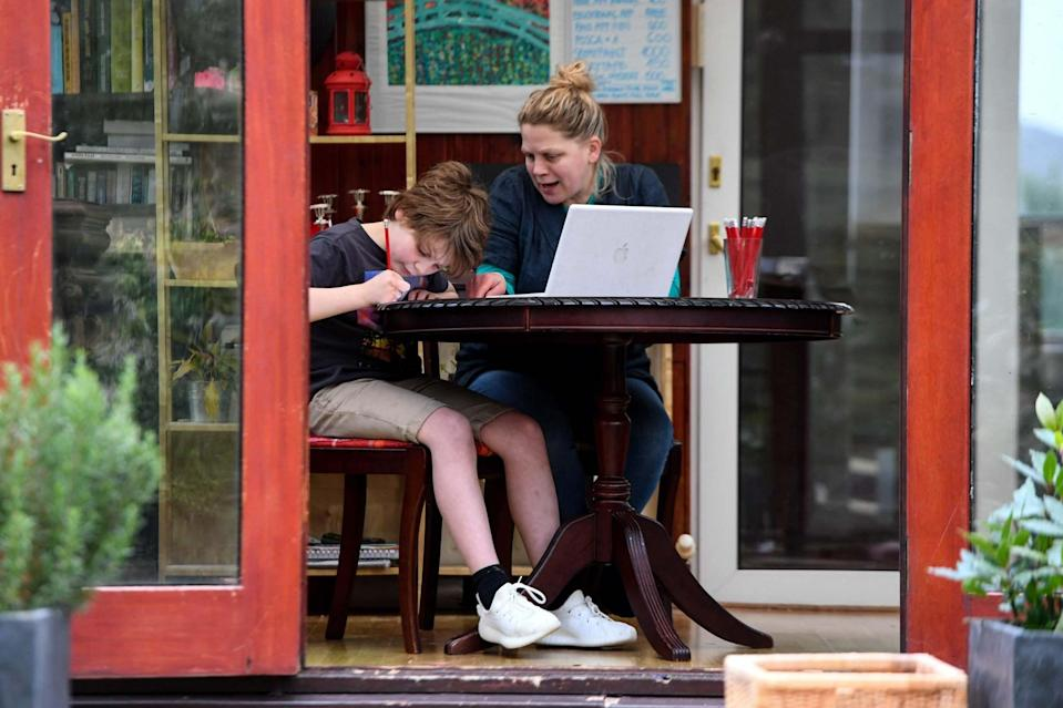 <p>The plan to ensure children are tested at home comes as the government looks to reopen schools</p> (AFP via Getty Images)