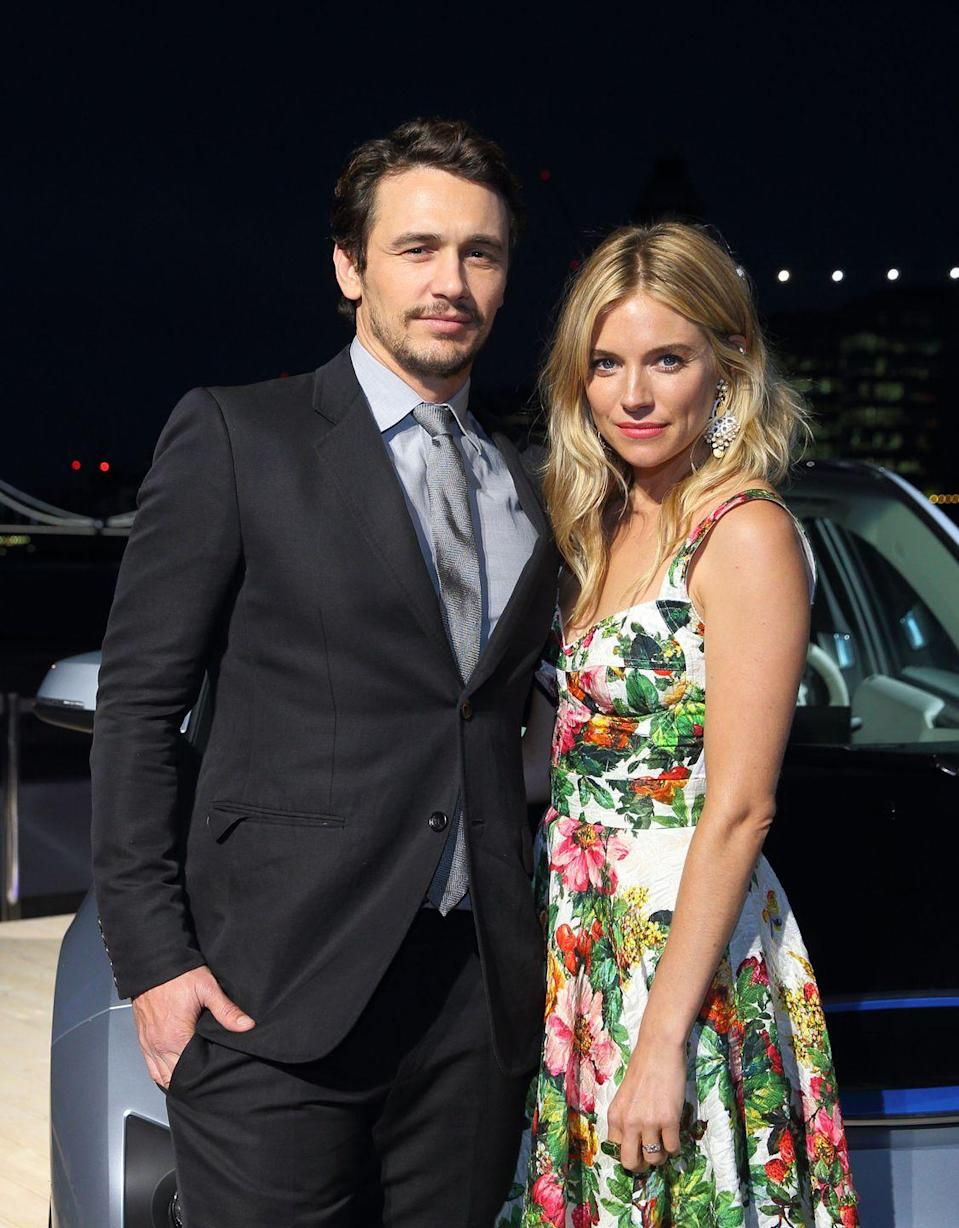 "<p>While filming <em>Camille, </em>SiennaMiller did not want to kiss James Franco. The actor explained Miller suffered from a major toothache that made the idea of kissing her costar less than ideal.</p><p>""I think we kissed once in that film and it wasn't at all intense—there was no rolling around or anything,"" he explained. ""Sienna's molar was giving her pain so she called the dentist!""</p>"