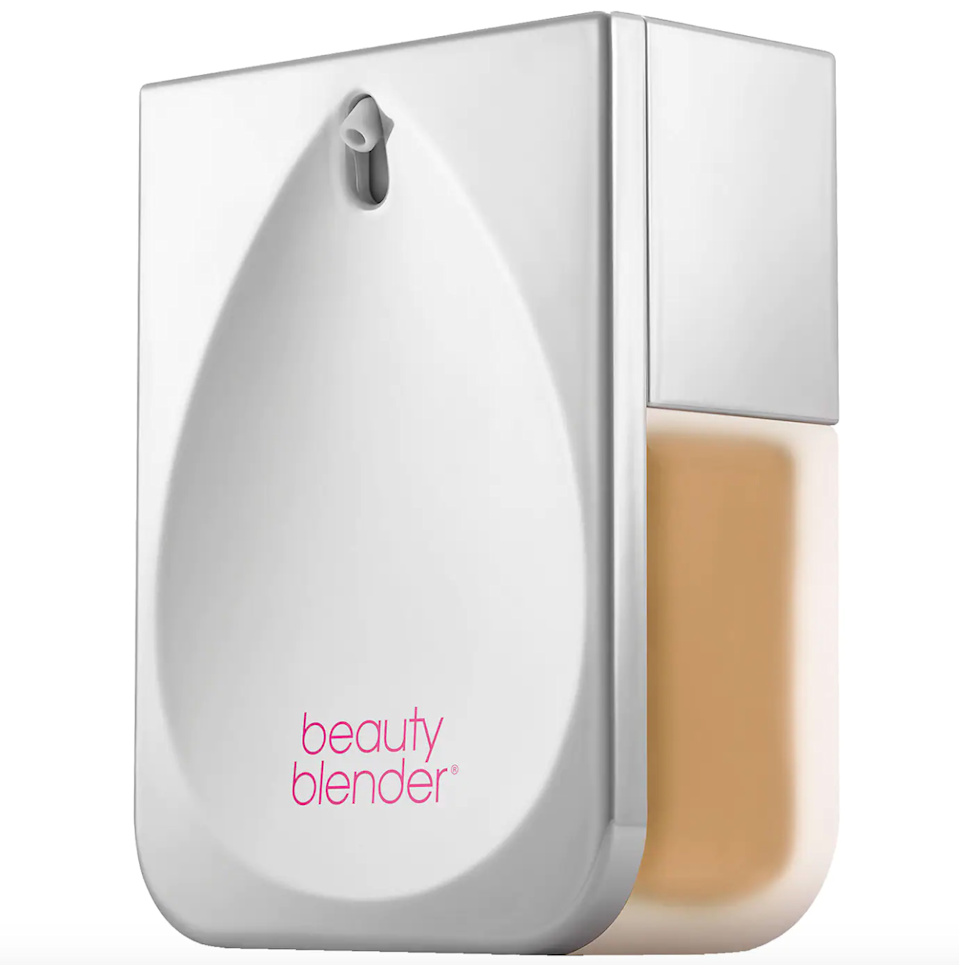 """<br><br><strong>Beautyblender</strong> Bounce Liquid Whip Long Wear Foundation, $, available at <a href=""""https://go.skimresources.com/?id=30283X879131&url=https%3A%2F%2Ffave.co%2F3i00SUZ"""" rel=""""nofollow noopener"""" target=""""_blank"""" data-ylk=""""slk:Sephora"""" class=""""link rapid-noclick-resp"""">Sephora</a>"""