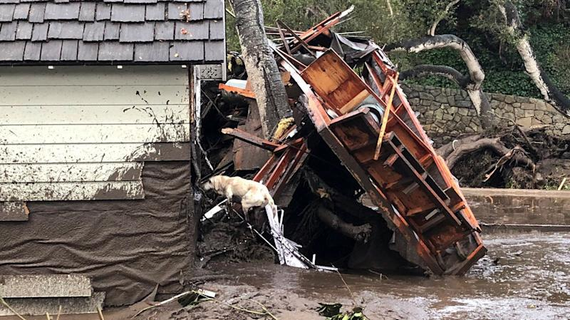 Videos Of Mudslide-Ravaged Montecito Reveal Staggering Devastation