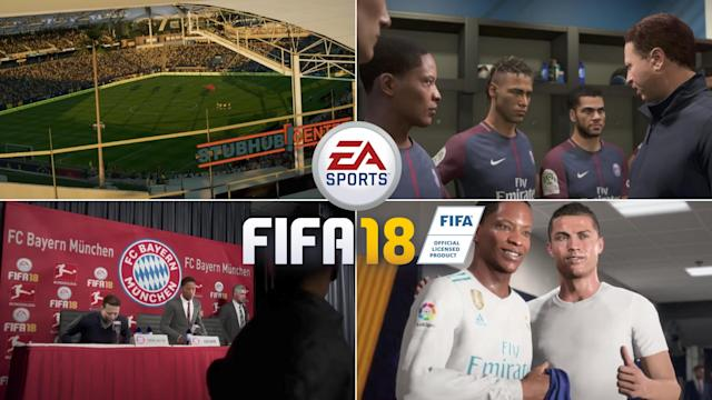 FIFA 18 is hitting stores next week