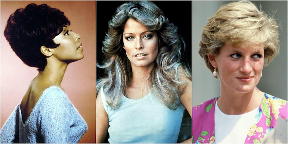<p>From the game-changing 1920s bob to the iconic Farrah waves of the 1970s, nothing quite conjures up an era like a memorable hairstyle. But which was the most memorable look during your birth year?</p>