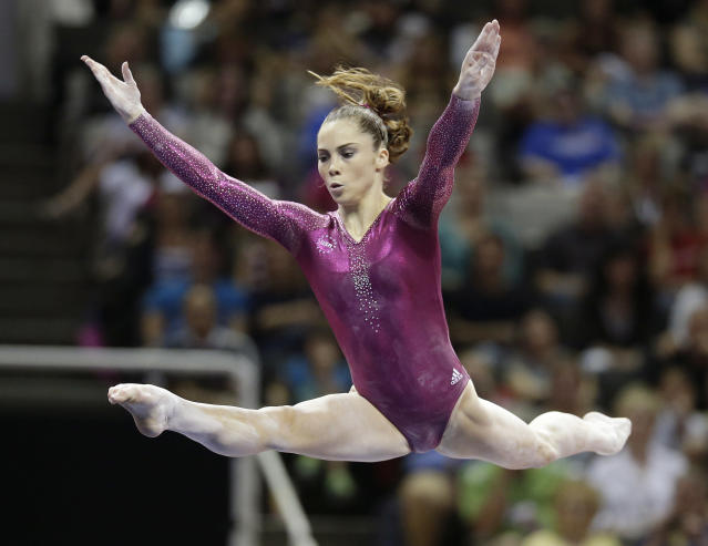 McKayla Maroney says she was molested for years by a former USA Gymnastics team doctor Larry Nassar, abuse she said started in her early teens and continued for the rest of her competitive career. (AP)